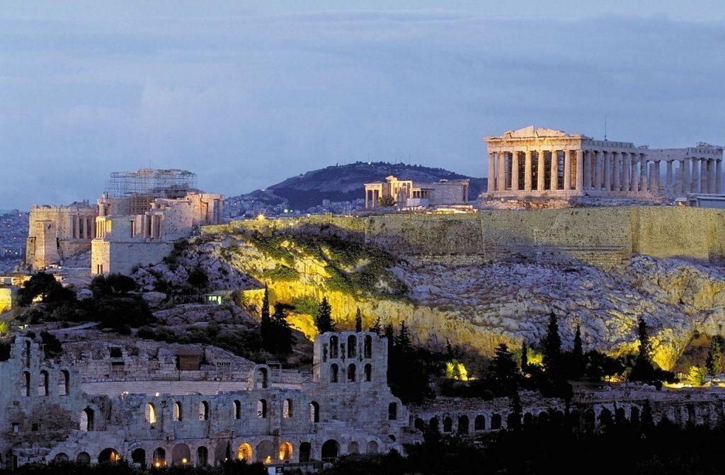 Monastiraki , em Atenas, na Grécia