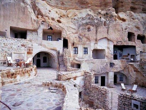 Moradias em Cavernas, na Capadócia