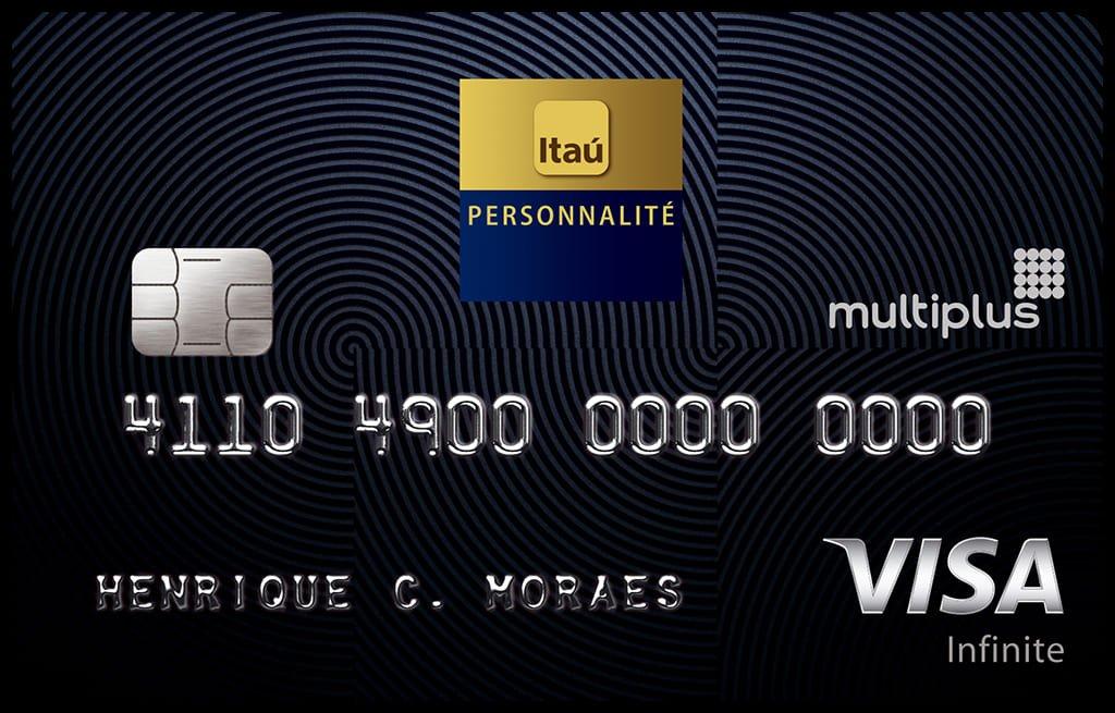 Itaú Personnalité Multiplus Visa Infinite - melhor cartão para milhas