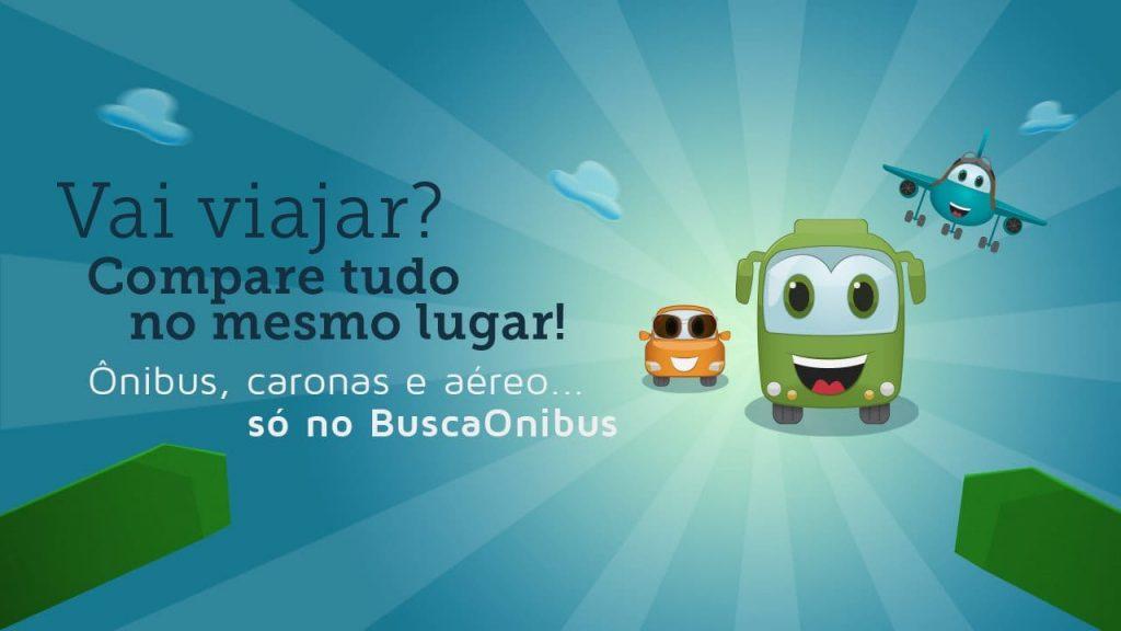 Buscaonibus parceria com Skyscanner e BlaBlaCar